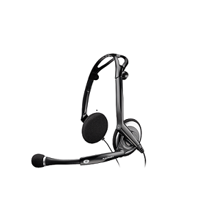Plantronics DSP-400 Digitally Enhanced Foldable noise cancellation headset