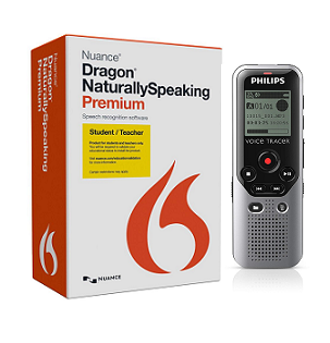 Nuance Dragon Naturally Speaking Premium 13.0 Mobile & headset (Student & Teacher Indian Edition)