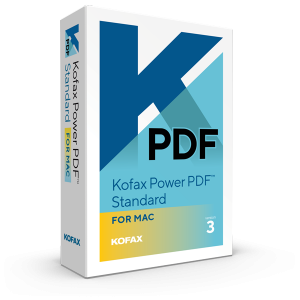 Kofax Power PDF Standard for Mac