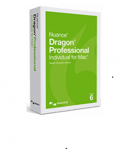 Nuance Dragon Dictate Professional 6.0 for Apple Mac