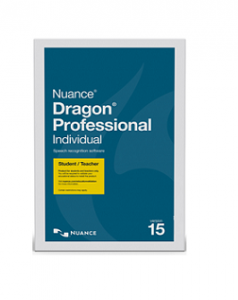 Dragon Professional 15.0 Individual with Headset-STUDENT Edition