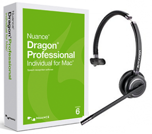 Nuance Dragon Dictate Professional 6.0 Wireless for Apple Mac