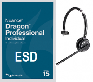 Dragon Professional 15.0 Individual Wireless