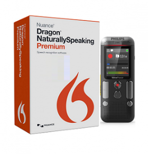 Nuance Dragon Naturally Speaking Premium 13.0 Mobile & headset